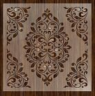 Внешний вид - {Fantasy Stencils} | 24 | Damask Large Wall Stencils
