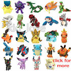 Pokemon Character Plush Soft Toy Stuffed Animal Doll Teddy Cuddly Figure
