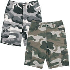 "Dickies Men's 13"" Ripstop Camouflage Cargo Shorts Pocket Loose Fit Style WR551"
