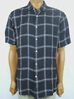 "CREMIEUX Classics Short Sleeve Plaid Button Front ""The Laundered Linen Shirt"""