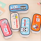 New Cute Pencil Pen Case Box Cosmetic Pouch Pocket Brush Holder Makeup Bags