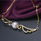 s417 2015 new AAA grade 10-11mm white akoya pearl necklace Pendants 18k plated