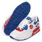 Athleltic Shoes Air Heel Running Womens Sports Paper Planes PP1101 White Red