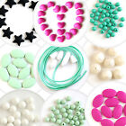DIY Silicone Teething loose Beads with Baby safe Jewelry, FDA Proof, Bpa-free