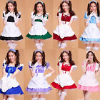 Cosplay girls Maid Outfits Costume Womens sexy servant Party Dresses Set apron