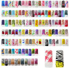TP16-B 20 Pcs, 200 Pcs Nail Art Half Pre-design Tips-61-90 Colours