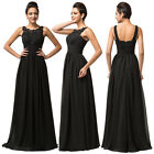 New Sexy Long Wedding Party Dress Bridesmaid Gown Evening Prom Ball Formal Dress