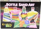 BOTTLE SAND ART WITH 4 BAG DIFFERENT COLOUR FUNNEL SPOON PLASTIC BOTTLE AND TOOL
