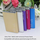 5600mAh Portable External Battery Universal USB Power Bank Charger Smartphone