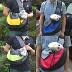 Hot Portable Pet Dog Puppy Cat Backpack Carrier Bag Mesh Travel Front Shoulder