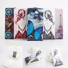 "Fashion Painted Flip Leather Case Cover Skin For 5.5"" Leagoo Elite 2 Smartphone"