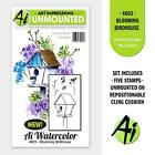 Art Impressions Cling Stamp Set BLOOMING BIRDHOUSES or FLOWERING MAILBOX