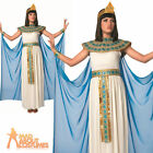 Deluxe Adult Cleopatra Costume Ladies Egyptian Fancy Dress Nile Queen Outfit New