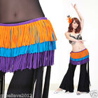 Brand New Belly Dance CottonTassels Fringes Hip Scarf Belt 3Colors Free Shipping