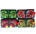 Hmong Hilltribe Boho Ladies Zip Wallet Deluxe Flower Design from Thailand