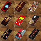 Iron Man Marvel Stickerbomb Cover Case for Apple iPhone 4 | 5 | 6 | iPod 4 5