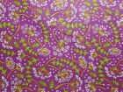 Timeless Treasures Fabric Samarra Orchid Floral Purple Fat Quarter, By the Yard