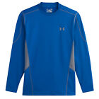 UNDER ARMOUR MENS COLDGEAR EVO FITTED HYBRID MOCK TOP - NEW COMPRESSION SPORTS