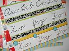 New ABC Learning Cursive A-Z 6 WALL Banners ALPHABET School Home Teaching Tool