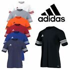 Adidas Mens Entrada 14 Climalite Short Sleeve T Shirt Football Gym Training Top