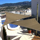 10'x10'x10' Triangle Sun Shade Sail Fabric Yard Outdoor Canopy Patio Pool Awning