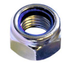 M6 / 6mm NYLOC TYPE NYLON INSERT LOCK NUTS DIN 985 A2 STAINLESS STEEL