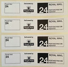 Roll Printed Royal Mail First Class 24 PPI Postage Labels - 90mm x 20mm