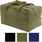 Heavy Duty Cotton Canvas Small Parachute Cargo Tote Bag