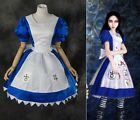 H-170 Alice Madness Returns Classic Kleid dress Cosplay Kostüm costume nach Maß