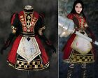 H-171 Alice Madness Returns Royal Poker Kleid dress Cosplay Kostüm costume n Maß
