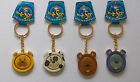 New In A Spin Lovely Dog Doggy keyring 4 designs To Choose From Nice Gift Metal