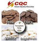 Clasen 5 lb Milk Dark or White Melting Wafers Discs Alpine Chocolate Candy Melts