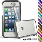 Shockproof Premium Blade Deff Cleave Metal Bumper case for Apple iPhone 5 5S
