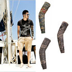 Reliable UV Sun Cycling Bicycle Arm Warmers Sleeve Cover Protection Novel UK58