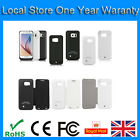 4200mAh Extended Battery Backup Power Charger Case for Samsung S6 G9200 G920f