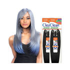 """Model Model CLEAN 100% Human Hair Natural Straight Extension Weave Hair 8""""-16"""""""