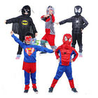 Children Kids Superhero Avenger Cosplay Costume Halloween Cosmic Party Outfit