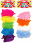 Feathers Pastel and Vibrant Colours Children Kids Art Card Craft Pre School