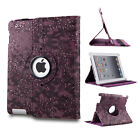 360 Rotating Magnetic Leather Case Smart Cover Stand For APPLE iPad/Air/Mini/Pro