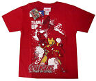 Avengers Iron Man Ultron boys cotton t-shirt Size 6,8,10,12 Age 4-9y Free Ship