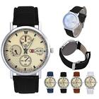 Fashion New Casual Watch Men/Women Leather Analog Quartz Business Wrist Watch