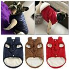Pet Vest Jacket Warm Clothes Small/Large Puppy Dog Winter Padded Coat Waterproof