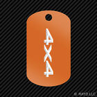 4x4 Keychain GI dog tag engraved many colors truck off road #2