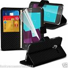 Leather Book Wallet Phone Case Cover✔Pen✔SP for Vodafone Smart Speed 6