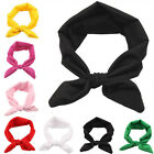 Fashion Women Yoga Cute Bow Hairband Turban Knotted Rabbit Hair Band Headband