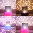 Romatic Cosmos Moon Star Master Projector LED Starry Night Sky Light Lamp Baby R