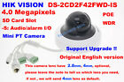 Hikvision English DS-2CD2F42FWD-IS 4MP IP POE security CCTV 2.8/4mm PTZ camera
