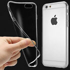 Crystal Clear Transparent Soft Silicone TPU Case Cover for iPhone6S Plus Samsung