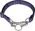 Country Brook Design® German Wirehaired Pointer Half Check Ribbon Dog Collar