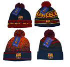 fc barcelona beanie pom official winter skull cap authentic 2019-20 fcb messi 10